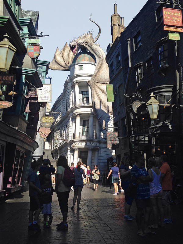The Wizarding World of Harry Potter, Universal Studio na Florydzie