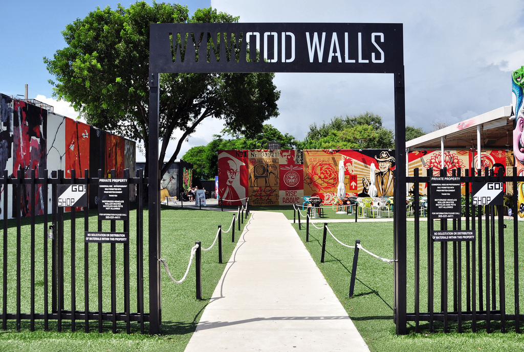 Brama do Wynwood Walls | Wynwood Art District w Miami