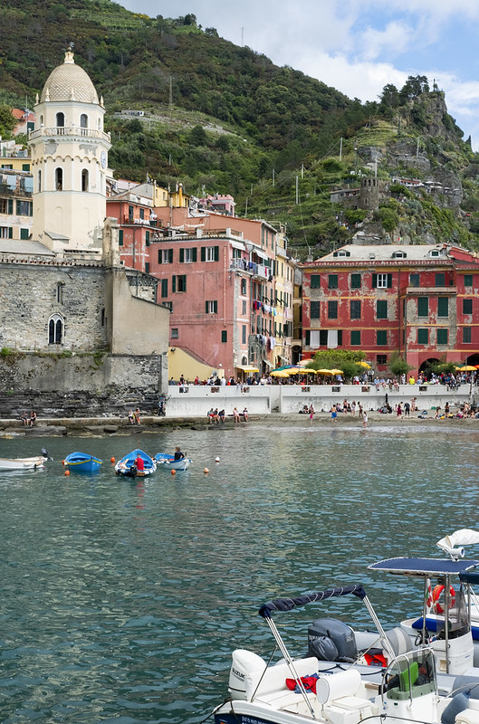Port w Vernazza